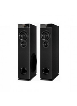Philips 2.0 Channel Tower Speakers - Black SPT-6660