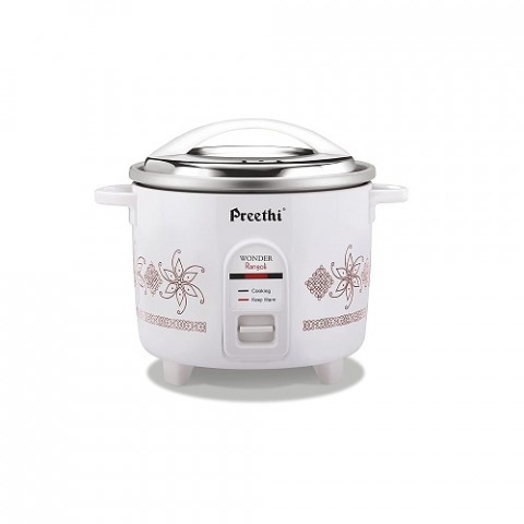 Preethi 1.8-Litre Double Pan Rice Cooker RC-320