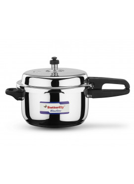Butterfly Blueline Induction Bottom 5 Ltr Pressure Cooker
