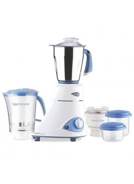 Preethi Platinum MG-153 550 Watt Mixer Grinder Blue Leaf Platinum 110V