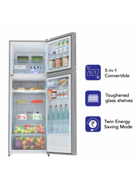 Haier 258L Double Door Refrigerator 3Star