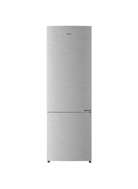 Haier 256L 3 Star With Inverter Double Door Refrigerator Brushline Silver HRB-2764BS-E