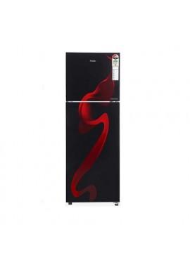 Haier 258 L Frost Free Double Door 3 Star Convertible Refrigerator Black Spiral Glass/Black Spiral, HRF-2784CSG-E