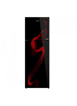 Haier 278 L 3 Star Frost Free Double Door Refrigerator Black HRF-2983CSG-E