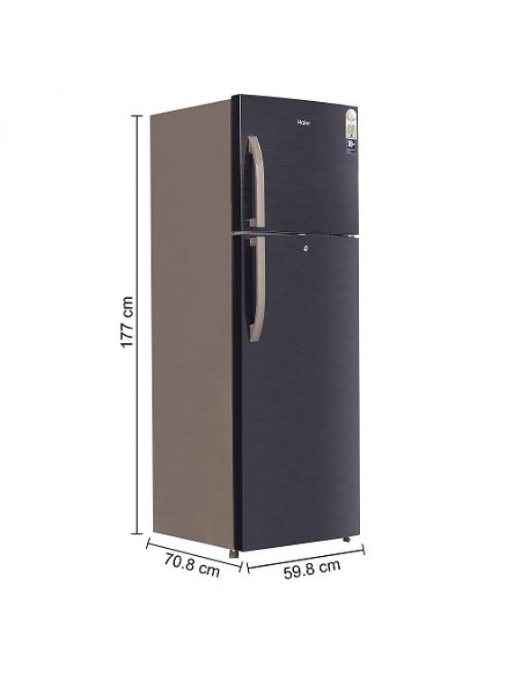 Haier 347L Double Door Refrigerator 2Star