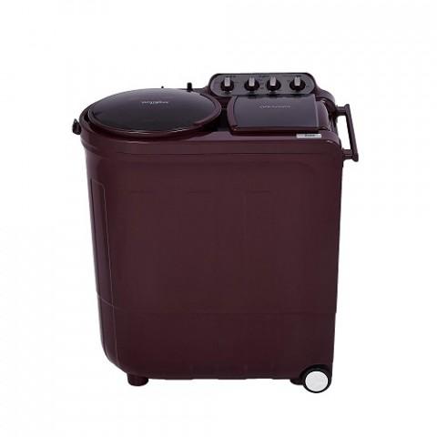 Whirlpool 8 Kg 5 Star Semi-Automatic Top Loading Washing Machine ACE 8.0 TURBO DRY Wine Dazzle
