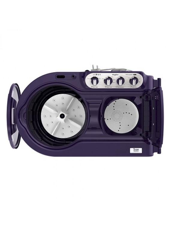 Whirlpool 8.5 Kg 5 Star Semi-Automatic Top Loading Washing Machine ACE 8.5 TURBO DRY, Purple Dazzle