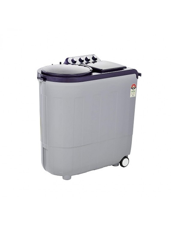 Whirlpool 8.5 Kg 5 Star Semi-Automatic Top Loading Washing Machine ACE 8.5 TURBO DRY, Silver Dazzle