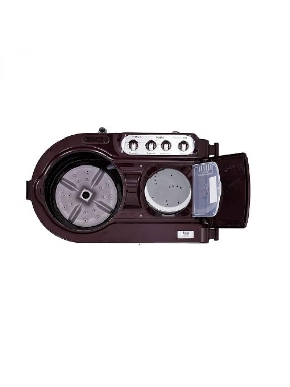 Whirlpool 8.5 Kg 5 Star Semi-Automatic Top Loading Washing Machine ACE 8.5 TURBO DRY, Wine Dazzle
