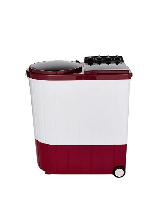 Whirlpool 9 Kg Semi-Automatic Top Loading Washing Machine ACE XL 9.0, Coral Red, 3D Scrub Technology