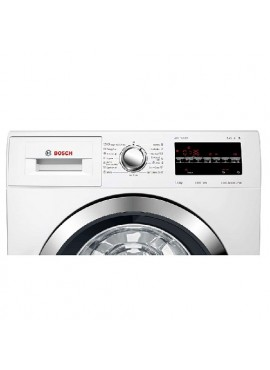 Bosch 7.5 kg Fully Automatic Front Loading Washing Machine Inbuilt Heater White WAT2846CIN