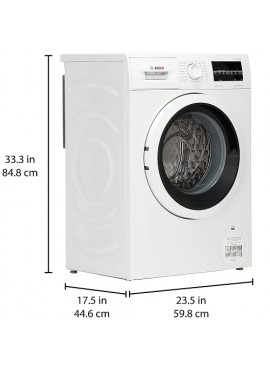 Bosch 6.5 Kg Inverter Fully-Automatic Front Loading Washing Machine Inbuilt heater White WLK20261IN