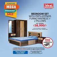 Bedroom Set With PEPS-HYPNOS F..