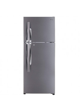 LG 260 L Frost Free Double Door Smart Inverter Compressor Refrigerator,Shiny Steel GL-I292RPZL 3Star