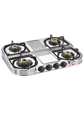 Prestige Stainless Steel Gas Stove - DGS 04 Duplex Series