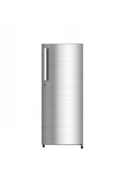 Haier 195 L Direct Cool Single Door Shiny Steel  4 Star Refrigerator HRD1954CSSE