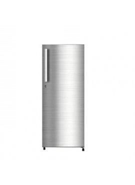Haier 195 L Direct Cool Single Door Shiny Steel  4 Star Refrigerator HRD1954CSSE