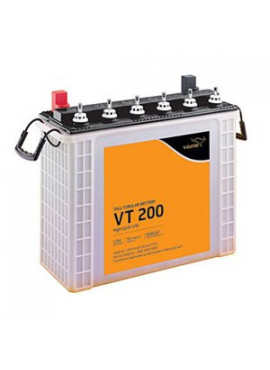 V-GUARD VT 200 200 AH TALL TUBULAR INVERTER BATTERY