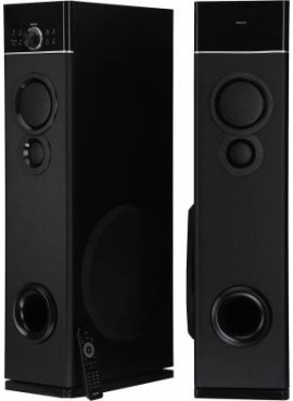 Philips Mutlimedia Tower Speakers 2.0 With Wireless Microphone - SPA 9120B
