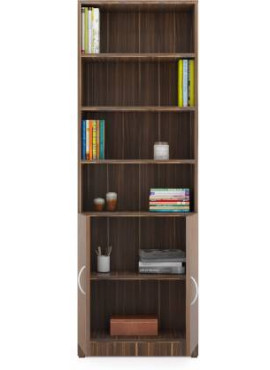 Ava Engineered Wood Semi-Open Book Shelf