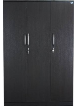 Engineered Wood 3 Door Wardrobe without Mirror