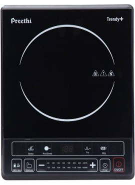 Preethi TRENDY + 1600W Induction Cook Top