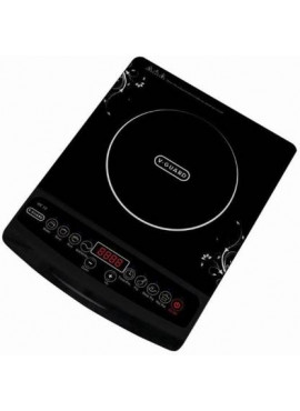 V-Guard VC 10 1800W Induction Cooktop (BLACK, PUSH BUTTON)