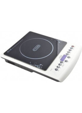 V-Guard VIC 20 2000W Induction Cooktop (BLACK & WHITE, PUSH BUTTON)
