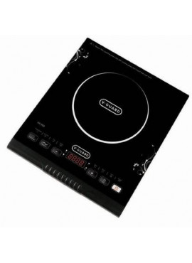 V-Guard VIC 200 2000W Induction Cooktop (BLACK, FEATHER TOUCH)